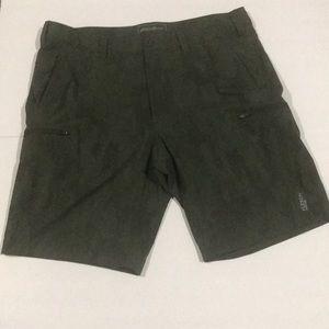 Eddie Bauer Mens Flexion Amphib outdoor shorts EUC